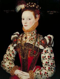 Предполагаемый портрет Хелены Снакенборг, придворной дамы Елизаветы I, родом из Швеции. Неизвестный художник, 1569 г., из коллекции галереи Тейт (Лондон). Много лет…