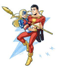 SHAZAM and Stargirl