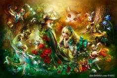 Alice in Wonderland click to see all of the details very beautiful