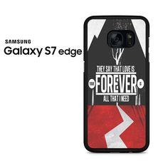 If I'm James Dean You're Audrey Hepburn Samsung Galaxy S7 Edge Case