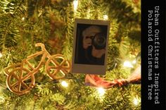 Urban Outfitters Inspired Polaroid Christmas Tree from East Coast Creative