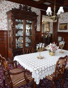 Solomonu0027s Words For The Wise: Visit Smethportu0027s Victorian Mansions Saturday  · Victorian Dining RoomsVictorian ...