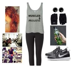 """""""Muscles and Mascara #2"""" by teodoramaria98 ❤ liked on Polyvore featuring NIKE and Coast"""