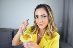 Confira a receita de uma Mousse de Maracujá sem açúcar fácil de preparar! Vocês vão curtir, pois a sobremesa é leve e fica bem gostosa...