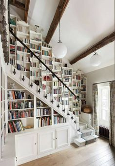 Home Library Rooms, Home Library Design, Home Libraries, Dream Home Design, House Rooms, My Dream Home, Home Interior Design, House Design, Home Design Decor