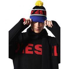 Diesel čepice Diesel, Beanie, Hats, Fashion, Diesel Fuel, Moda, Hat, Fashion Styles, Beanies