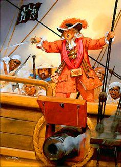 Bartholomew Roberts the gentleman pirate