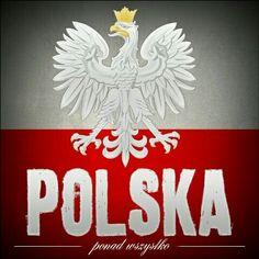 Above all, Polska - Przede wszystkim, Polska! Polish Symbols, Poland Culture, Polish Folk Art, Historical Monuments, Polish Recipes, Stencil Painting, My Heritage, Krakow, Old Things