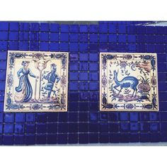 More #tiles! #azulejos #cobalt #blue #wip #hotel #interiordesign #stroganovhotel #portugal Hotels Portugal, Hotel Spa, Event Venues, Interiores Design, Cobalt, Tiles, Instagram Posts, Blue, Home Decor