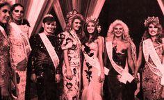 Las Ganadoras Absolutas de la Noche mas Linda del Año. del Miss Venezuela 1986..