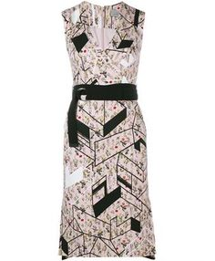 PREEN BY THORNTON BREGAZZI - Eames Printed Sleeveless Dress