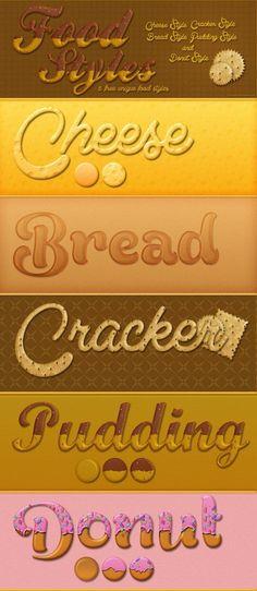5 Free Sweet Food Styles