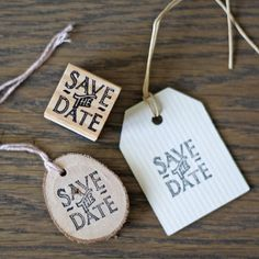 Save The Date Stamp and Ink Pad
