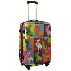 Trolley Saxoline Bulldogs Rigida 4 ruedas Tamaño mediano - Bulldogs - Saxoline - El Equipo de Viaje, maletas y bolsos de viaje