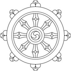 Dharma Wheel - ReligionFacts