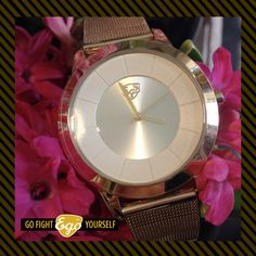 Peace Gold #egowatches #gofightyourself #spring
