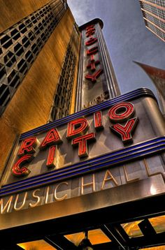 Radio City Music Hall in NYC - where Nana would take me every Christmas. I so wanted to grow up to be a Rockette.