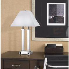 Get superior style and usability with this attractive desk lamp from the Rio Collection.