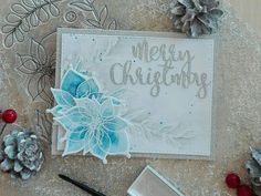 Winter Flowers Christmas Card | Craft For Joy Designs