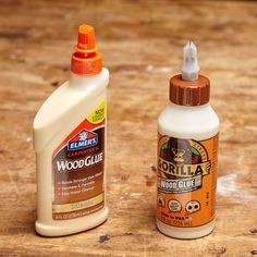 Dozens of glues claim to work well on wood and a variety of other materials. But regular wood glue is the best choice for raw wood-to-wood joinery. Most wood glues are a type of polyvinyl acetate (PVA). Also sometimes called carpenter's glue, wood glue is formulated to penetrate wood fibers, making glue joints that are stronger than the wood itself.