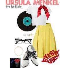 """Musical - Bye Bye Birdie - Ursula Menkel"" by saraloveless22 on Polyvore"