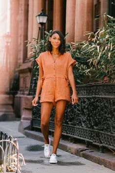 Check out this super versatile romper by Love, Fashion and Friends - the wardrobe must-have this Spring. Friends Fashion, Comfortable Outfits, Get Dressed, Fashion Photo, Spring Summer Fashion, Lounge Wear, Feminine, Rompers, Style Inspiration