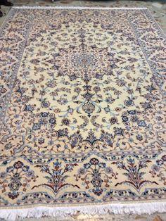 Persian rug. Naeen Rugs On Carpet, Carpets, Persian Rug, Decor, Farmhouse Rugs, Persian Carpet, Rugs, Decorating, Dekoration
