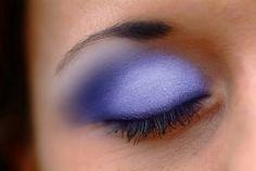 Metallic or Glitter Eyeshadow tutorial