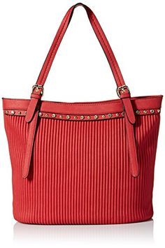 MG Collection Retro Glam Shoulder Bag Red One Size ** See this great product.