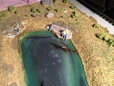 Jack's model railroad lake   Model railway layouts plans