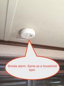 Jayco travel trailer smoke alarm
