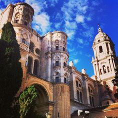 Catedral de Málaga v Málaga, Andalucía