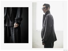 Stephane Olivier Models Ziggy Chen Spring/Summer 2015