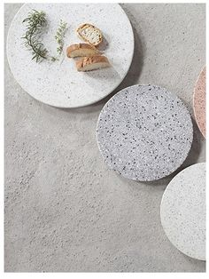 TERRAZZO PLATES from danskmadeforrooms.com