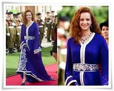 نتيجة بحث الصور عن القفطان المغربي الملكي
