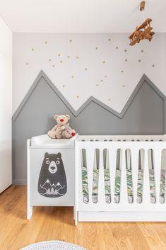 Dekoracja ściany | Pokój niemowlaka | White and grey nursery |Mountain wall art nursery Toddler Bed, Nursery, Colorful, Furniture, Home Decor, Child Bed, Baby Room, Child Room, Interior Design