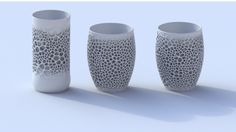 【磁器材料の3Dプリンタ製品】Nervous Systemが挑戦。様々な問題を乗り越えて、美しい磁器(陶器)作品が完成