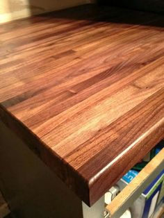 How to Protect an Oiled Butcher Block Countertop During Projects - The Ugly Duckling House