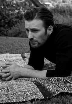"bwboysgallery: ""Chris Evans by Paul Jasmin """