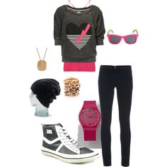 My first polyvore outfit!!
