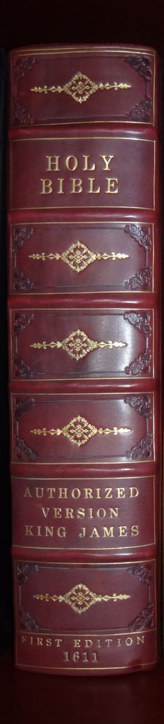 1611 King James Bible First Edition in fine binding ... Available at GREATSITE.COM - World's Largest Dealer of Rare & Antique Bibles