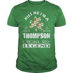 Awesome Tee KISS Thompson ORIGINAL IRISH LEGEND T-Shirts