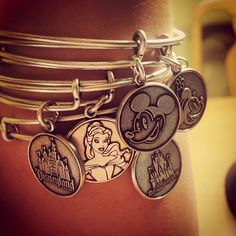 Ok so I love these Disney Alex and Anni bangles! I think it's the perfect non cheesy way to show my Disney obsession