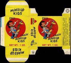 Stark - (Crazy) Mixed Up Kids candy box - 1970's by JasonLiebig, via Flickr