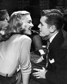 """thatkindofwoman: """"Teenage couple engaged in titillatingly intimate game of passing a ring from one side to the other using only mouth-held pencils during parlor game while on a date."""" Oklahoma, 1948 by Alfred Eisenstaedt (via LIFE) Intimate Games, Yves Montand, Parlor Games, Teenage Couples, Rivera, Nostalgia, Romance, Joan Crawford, Julie"""