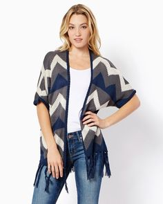 Aria Soft Fringe Cardi | Fashion Apparel - Sweaters | charming charlie | #Discount via #Coupons & #Promo Codes