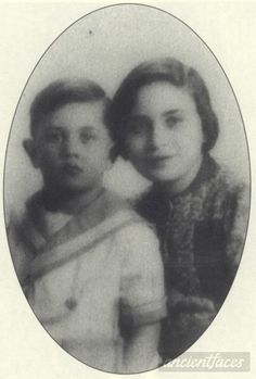 Charlotte age 11 and Max age 6 were deported to Auschwitz on Sept. 23, 1942.