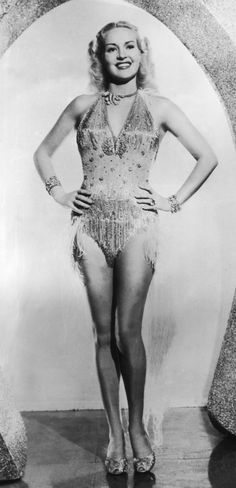 You can never have enough sequins, just ask Betty Grable.