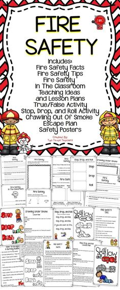 math worksheet : 1000 ideas about fire safety on pinterest  community helpers  : Fire Safety Worksheets For Kindergarten