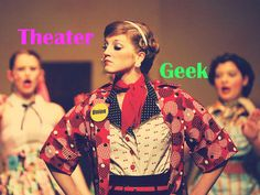 I got : The Theater Geek! What is Your High School Stereotype?<<<really me
